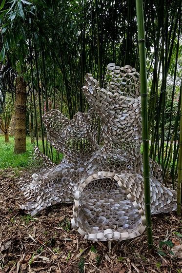 Amy Morgan - Cardboard Tube Sculpture