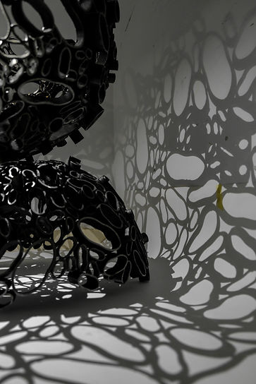 Amy Morgan - Squished Steel Pipes Sculpture