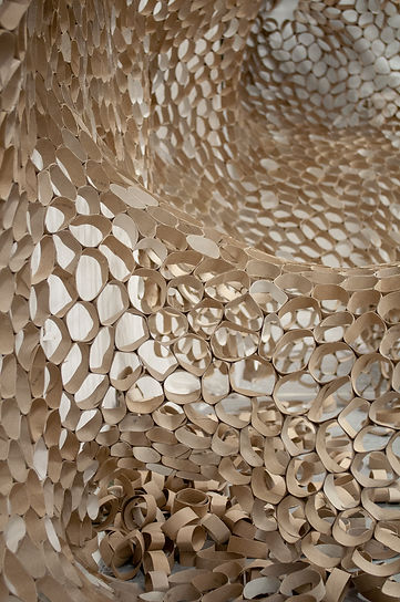 Amy Morgan - Cardboard Tube Installation