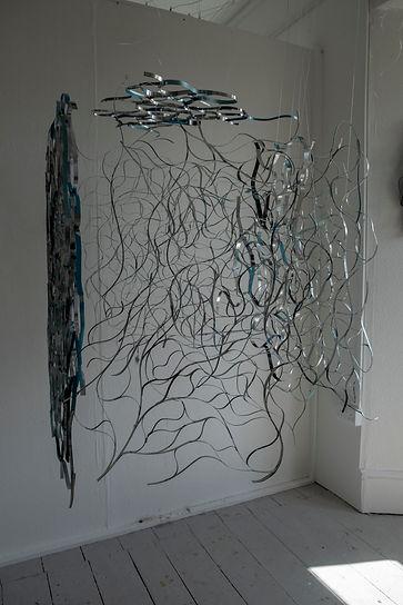 Amy Morgan - Layered Zinc Metal Sculpture