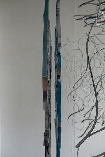 Amy Morgan - Layered Zinc Hanging Sculpture