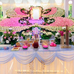 Buddhist Funeral Setup by Singapore Funeral Sanctuary