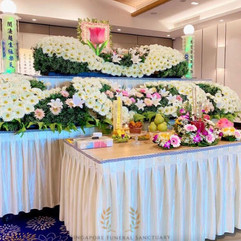 Taoist Funeral Setup by Singapore Funeral Sanctuary