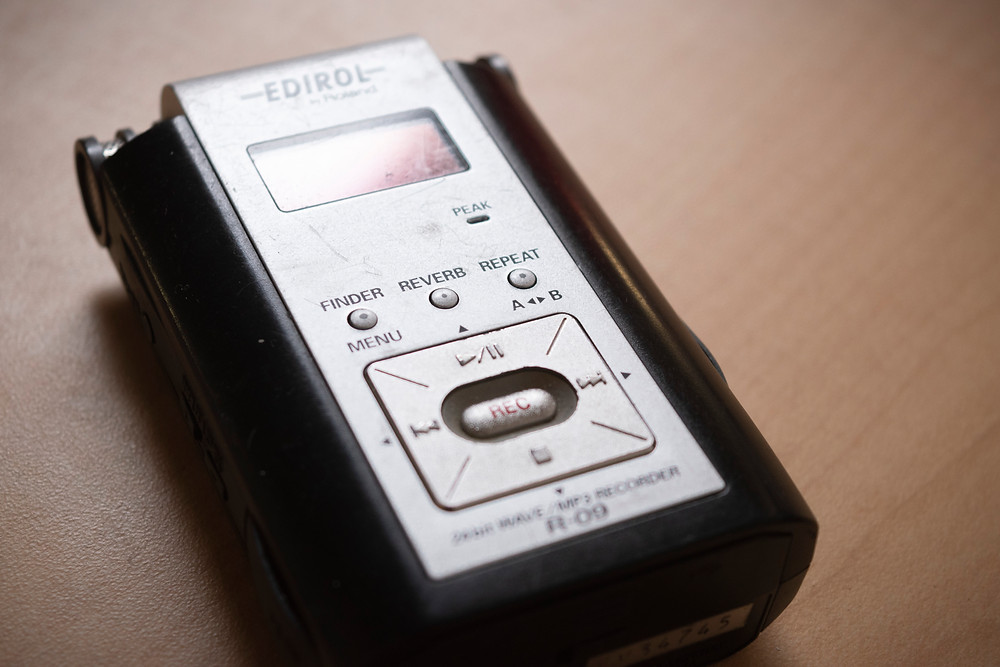 Audio recorder of Ryan