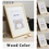 Thumbnail: Nordic Simple Woodeecn Frame A4 A3 Black White Color Picture Photo Frames