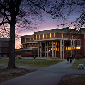 Hampshire College library