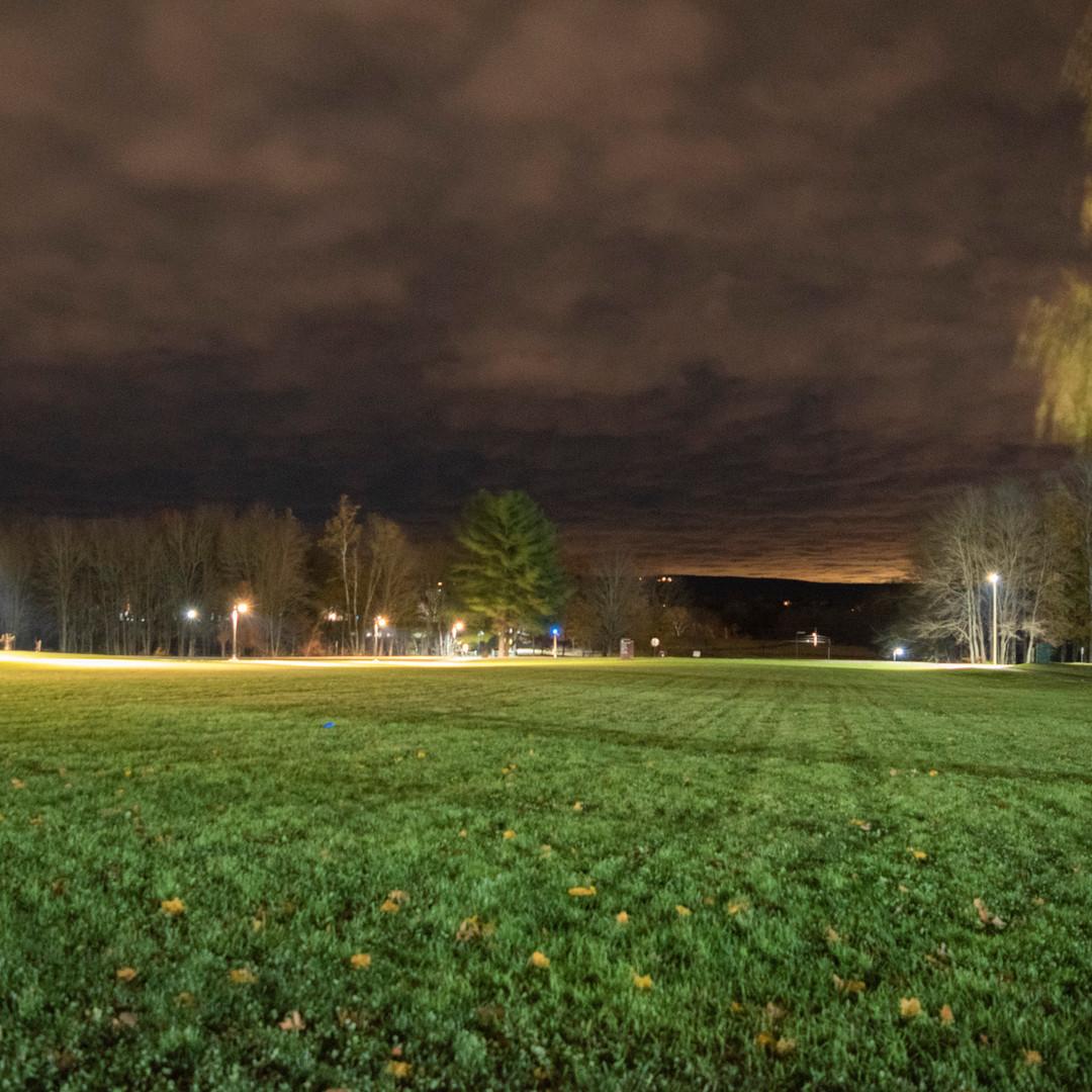Hampshire College at Night