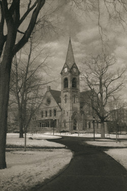 Old Chapel of UMass Amherst