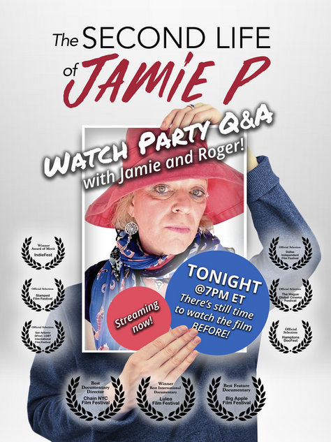 Redesigned one of Roger Sherman's film posters, The Second Life of Jamie P
