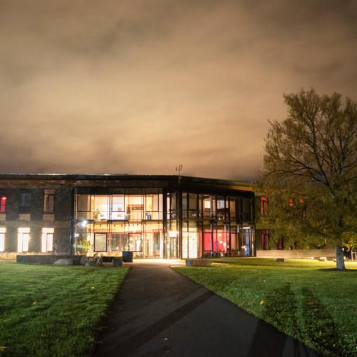 Kern Center at Night