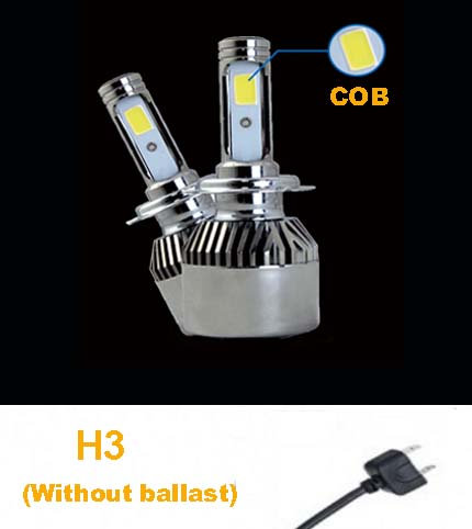 COB H3 LED Head Light