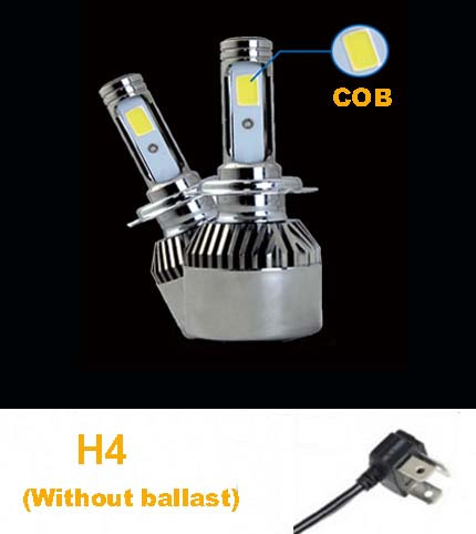 COB H4 LED Head Light