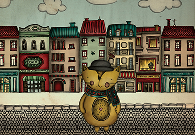 Molon the cat
