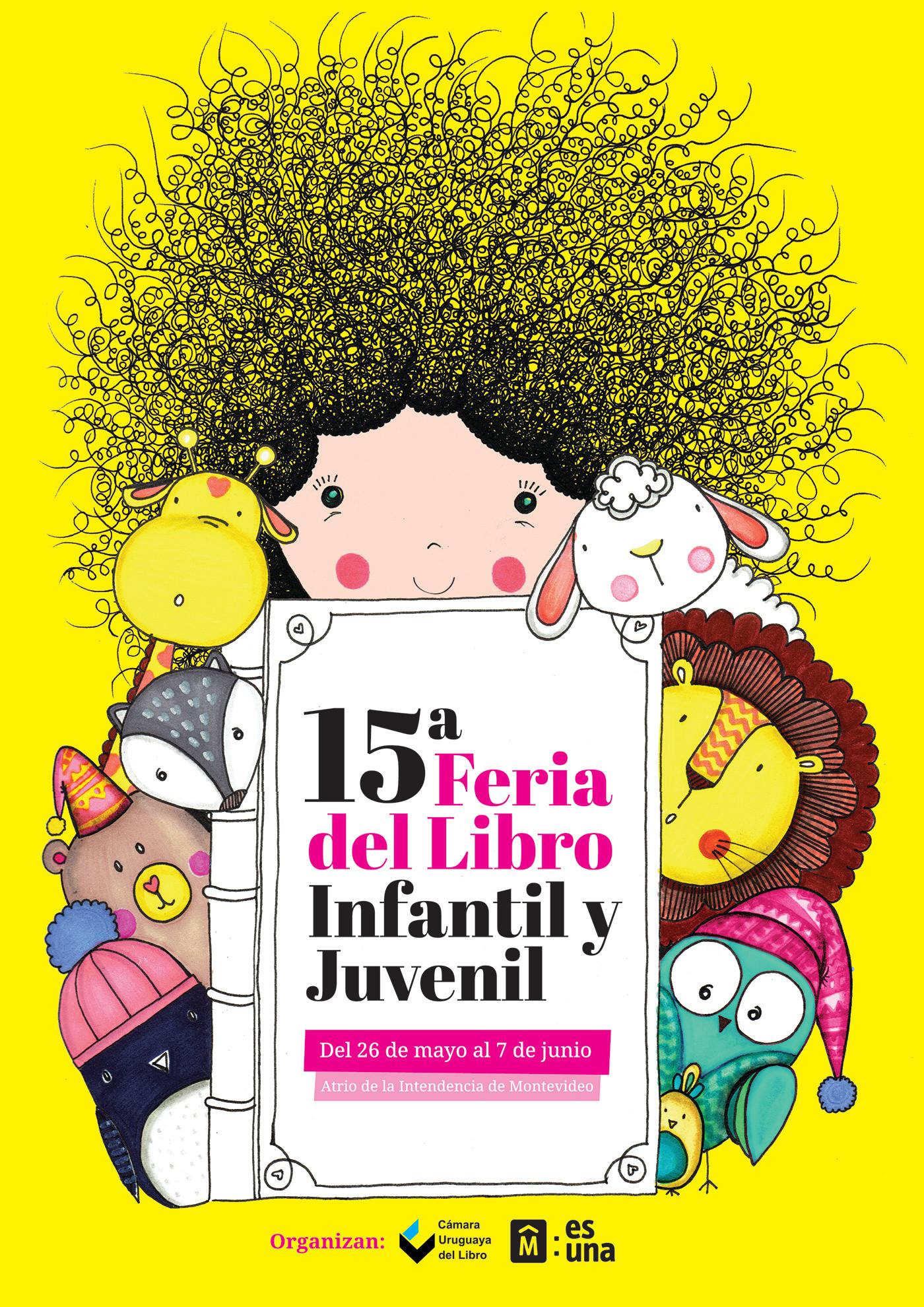 Children´s book fair poster 2015