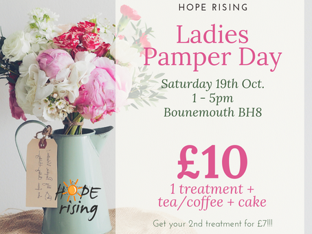 Ladies Pamper Day