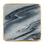 Thumbnail: Set of 4 Grey Marble Coasters with Gold Edging