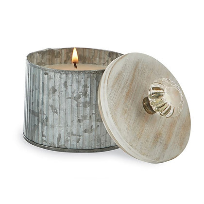 Tin Glass Door Knob Candles