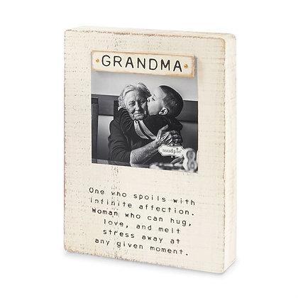 Grandma Sentimental Photo Frame