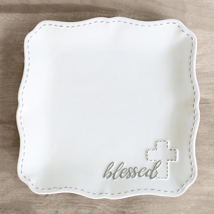 """Blessed"" Serving Platter"