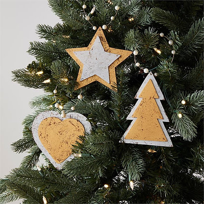 Foiled Icon Ornaments