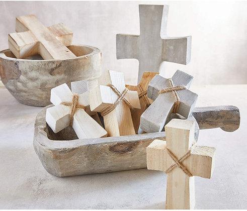 Standing Wooden Cross