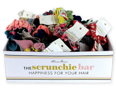 Set of 3 Carded Hair Scrunchies