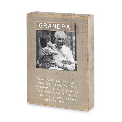 Grandpa Sentimental Photo Frame