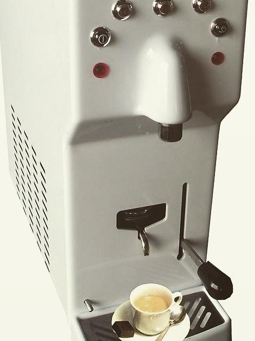 Acqua & Caffe soprabanco con acqua frizzante