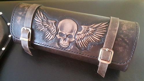 Skull with wings Handlebar/roll/toolbag