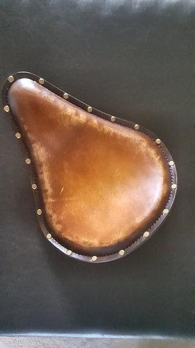 Brown/tan custom solo seat