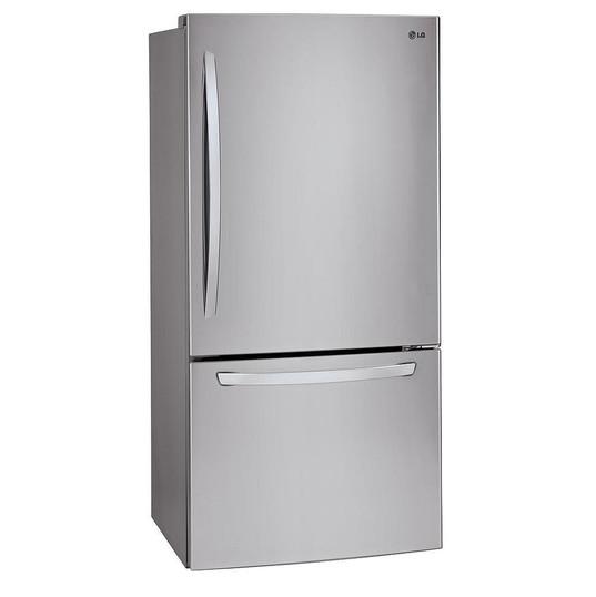 LG Electronics Réfrigérateur à congélateur inférieur de 30 pouces W 22 pieds cubes en acier inoxydable - ENERGY STAR  1 495,00 $