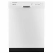 Amana Lave-vaisselle encastré à commande frontale en blanc, 63 dBA - ENERGY STAR  395,00 $
