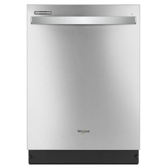 Whirlpool Lave-vaisselle Top Control en acier inoxydable, avec cycle à capteur - ENERGY STAR  545,00 $