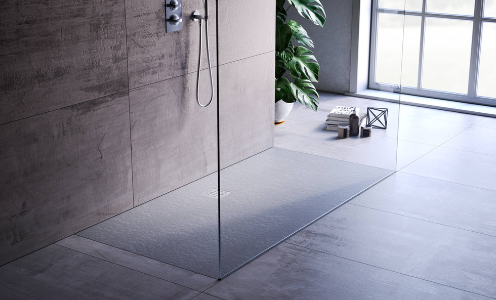 DOMUS LIVING SHOWER TRAY 180 PIETRA NERO