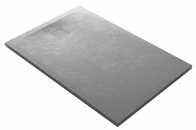 domus living cemento grigio shower tray.