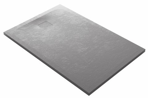 domus living cemento grigio shower tray.