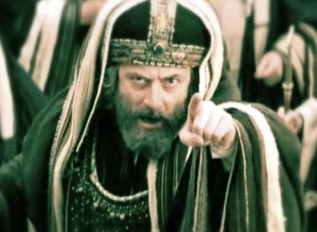 Eyes on Jesus: Murderous Eyes!