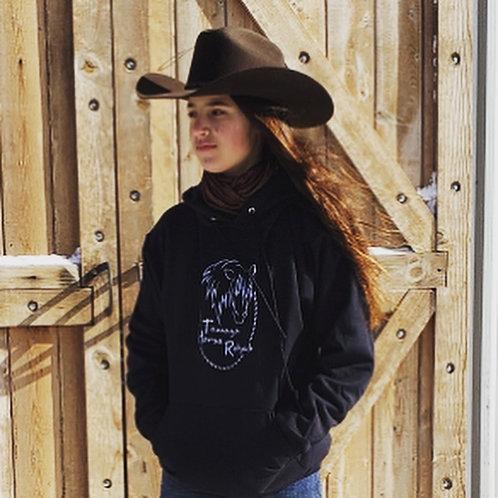 Black Tamaya Horse Rehab Hoodie