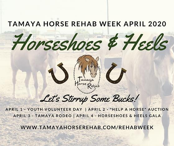 Tamaya Horse Rehab Week Gala