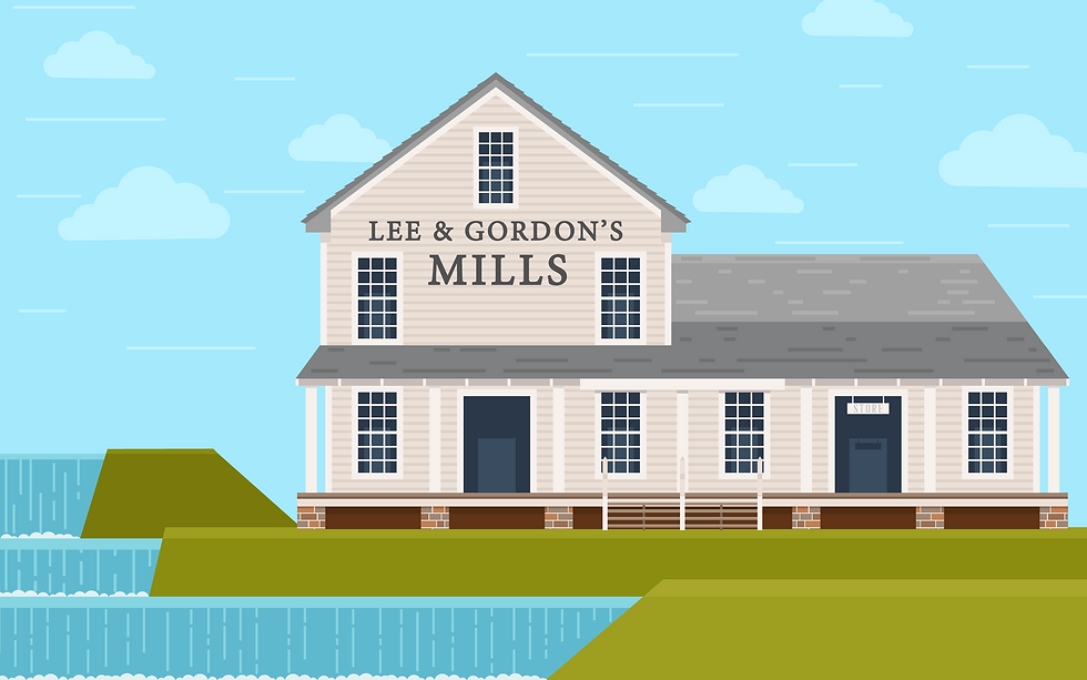Lee & Gordon Mill Illustration