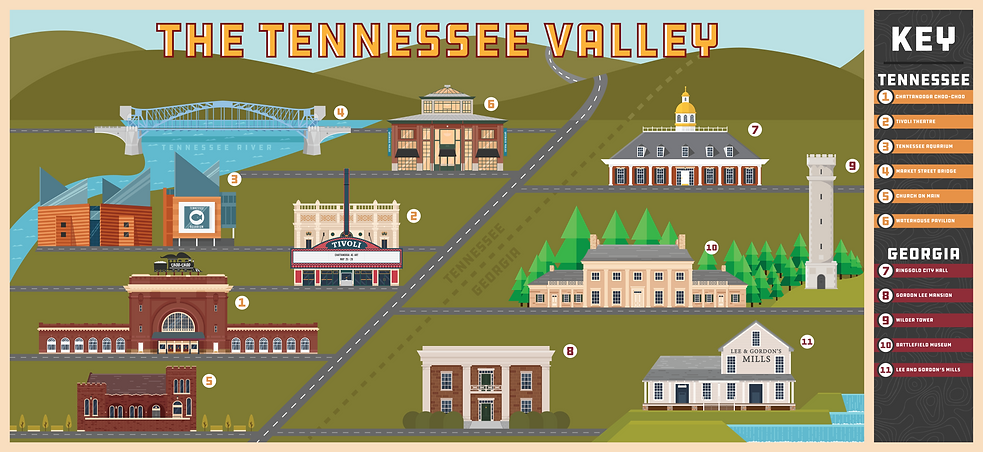 Tennessee Valley Map Caleb Buckler
