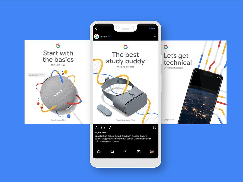 Google Back to School Mock