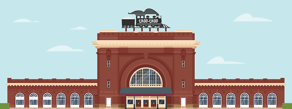 Chattanooga Choo Choo Illustration
