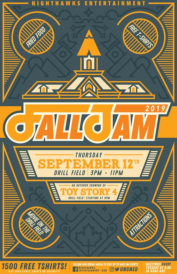 UNG Fall Jam Poster