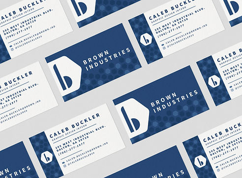 Brown Ind Redesign Business Cards