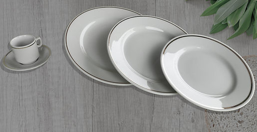 GAMME PORCELAINE FILET OR