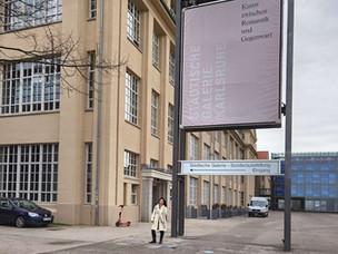 Lockdown  adé im Zentrum für Kunst und Medien Karlsruhe