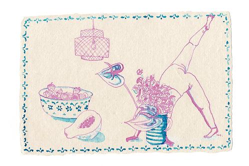 Flowerhead yogi, 5