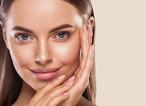 Face slimming skin treatment