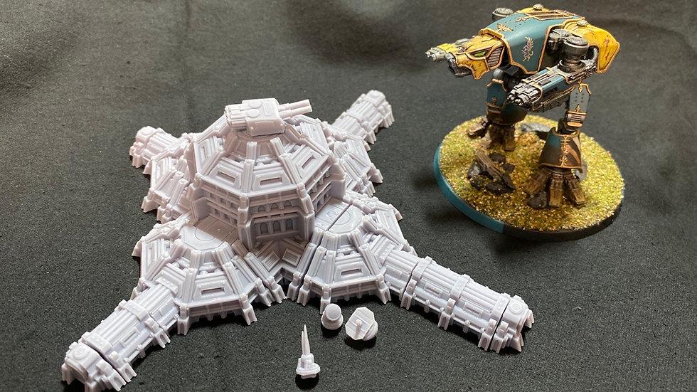 GrimDark Terrain Mega Bunker Pack